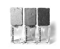 Concrete | Perfume bottles | Cement | Product design | interior |Concrete design | Beton design | Betonlook | www.eurocol.com
