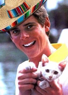 C. Thomas Howell in a sombrero!