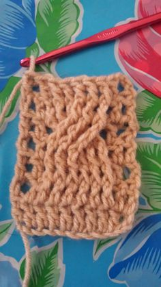 crochet tutorial cable bymom