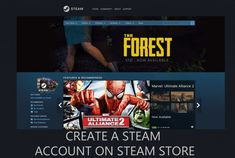 Steam store services can be accessed by users via many means. One of them is through Steam official web platform with the use of the URL
