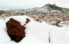 Zacatecas nevada 2010