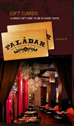 paladar latin kitchen rum bar we invite you to discover the bold flavors and. Interior Design Ideas. Home Design Ideas