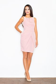 Looking for Day Dresses? Call off the search with our Pink Tulip Bubble Dress With Middle Cleavage Cut. Shop unique fashion at SilkFred Types Of Dresses, Day Dresses, Formal Dresses, Mini Dresses, Work Fashion, Unique Fashion, Tulip Dress, Dress Shirts For Women, Dress Cuts