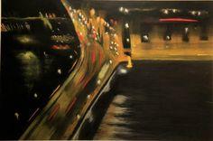 artlimerick Limerick City at Night - artlimerick painting by artist Mary Murphy Limerick City, Painting Gallery, Night City, All Art, Fair Grounds, Mary, Artist, Artwork, Fun