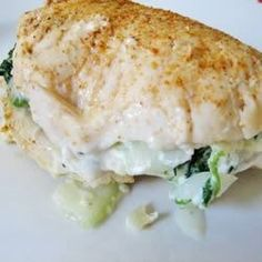 """Cottage Cheese Spinach Chicken 