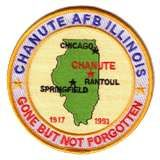 Chanute AFB  Rantoul, IL.  Did all my weather schooling here. Many memories.