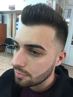 Fade hawk hair cut
