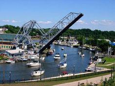Ashtabula Ohio, harbor. Such a wonderful place! : )