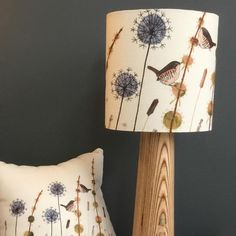 Please note, this lampshade will be made to order.This lampshade was created using appliqué, free-motion embroidery and hand-dyed fabrics and wools. It produces a lovely glow when illuminated.This item is handmade and therefore one-of-a-kind. Please just 'add to bag' if you would like to commission your own. Please note that this will be made to order. I can reproduce the design as accurately as possible but there will always be a slight variation in each one. I am currently working t...