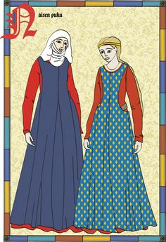 good overview of medieval clothes