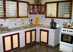 cuban casa particulares kitchens. In Caribbean Freedom, Mariela's grandmother's kitchen would look something like this. For more info, visit me at www.terimetts.com and check under Novels. Grandmothers Kitchen, Vinales, Key West, Cuban, Caribbean, Freedom, Kitchens, Novels, Kitchen Cabinets