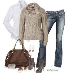 """Autumn Weekend"" love this!! Created by archimedes16 on polyvore"