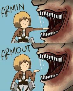 deviantART: More Like Armin LOL by BillieJoeKentang