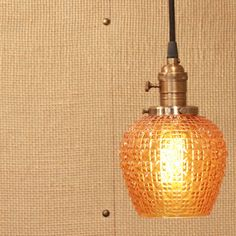 Swooning over this pendant light