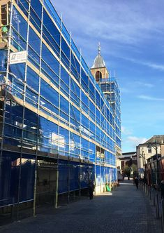 Check It is a local provider of domestic, commercial and specialist scaffolding in Edinburgh. Looking for scaffolding companies in Edinburgh? Scaffolding, Edinburgh, Scotland, Louvre, Building, Travel, Viajes, Buildings, Staging
