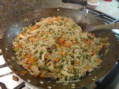 Honduran style arroz con pollo  - Kathy From Honduras - http://www.KathyFromHonduras.com