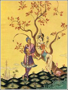 Virginia Frances Sterrett, The Arabian Nights (Conversation with Sultan)