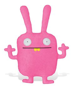 Take a look at this Classic Wippy Plush Toy by Uglydoll on #zulily today!