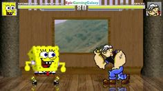 Popeye The Sailor Man VS SpongeBob SquarePants In A MUGEN Match / Battle / Fight This video showcases Gameplay of SpongeBob SquarePants VS Popeye The Sailor Man In A MUGEN Match / Battle / Fight