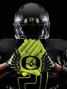 Oregon Ducks uniforms