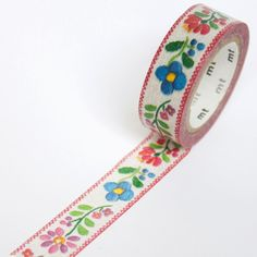 mt embroidery washi tape by mt masking tape