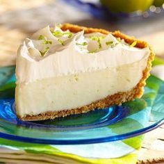 Classic Key Lime Pie Recipe from our friends at Eagle Brand®
