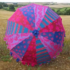 Indian Parasol - Summer Embroidered Parasol #indianparasol #parasol #indianumbrella #indiangardenparasol #indiansummer #rajasthan #kasakosa