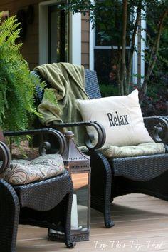 Ten Inspiring Outdoor Ideas - Addicted 2 DIY