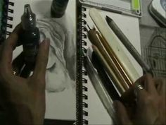 Pam Carriker's Sketching Inks: Liquid Pencil     Very informative 6 min video.  Looks like charcoal, quite beautiful, will be making a purchase.