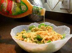 OR salad_adding Ital dressing Banana Pudding Desserts, Corn Pudding Recipes, Banana Dessert Recipes, Summer Recipes, Great Recipes, Dog Food Recipes, Dinner Recipes, Cooking Recipes, Fruit Cobbler