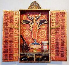 ASSEMBLE - I need to start making mini altars like this <3