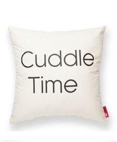 """""Cuddle Time"""" Decorative Throw Pillow"