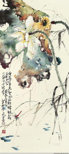 "iamjapanese: ""Zhao Shao'ang(赵少昂 Chinese, 1905-1998) """