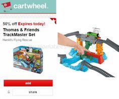 Target Cartwheel: 50% off Thomas & Friends Trackmaster Set