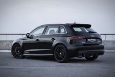 Audi Powerkit And Body Kit by MTM: The Audi specialists from MTM revealed this week a new powerkit and a body kit for the latest version of the Audi Best Cars For Teens, Audi Rs3, Car Accessories For Girls, Cute Cars, Car Tuning, Modified Cars, Small Cars, Car Wrap, Transportation Design