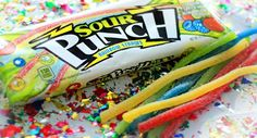NEW Sour Punch Rainbow Straws are here, along with new LEMON flavor! Get them @Target!