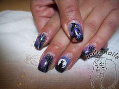 Halloween 2 by LadyNails - Nail Art Gallery nailartgallery.nailsmag.com by Nails Magazine www.nailsmag.com #nailart