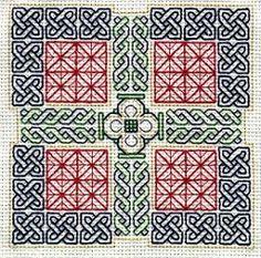 OK - Picture for colour only - Two Blackwork Samplers - NEEDLEWORK-Craftster.org B/W version: http://manualidades.facilisimo.com/foros/punto-de-cruz/blackwork-esquemas_399319_67.html