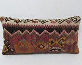 kilim pillow lumbar floral throw pillow decorative bed pillow art pillow sham outdoor decor large moroccan floor cushion country decor 25287