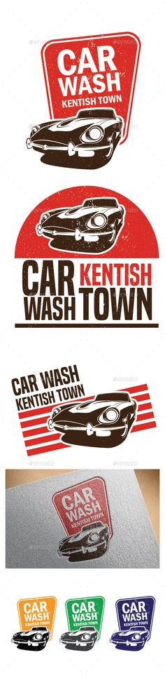 Car Kentish Logo Template — Vector EPS #dealer #automobile • Available here → https://graphicriver.net/item/car-kentish-logo-template/16732222?ref=pxcr