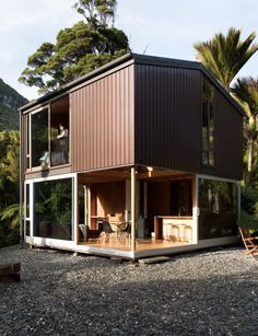 This perfectly formed cabin makes living small look easy