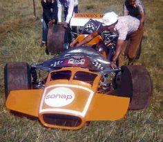 Roy Hesketh Circuit - Joe Domingo with his Lola-Chevrolet 1969