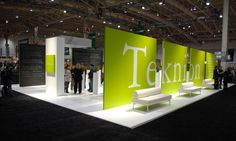 View of Teknion Exhibit Floor, IIDEX Exhibit 2006, Vanderbyl Design