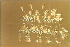 1991-1992 Sailor Marching Band Seniors Stacked