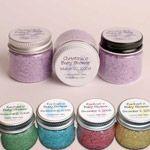 Bath Salt Baby Shower Favors in Sweet Little Jars