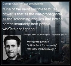 George Orwell's 'Homage to Catalonia' 1938 Corporate Crime, Excellence Quotes, German People, Book Writer, George Orwell, Conflict Resolution, Little Books, Political News, Some Words