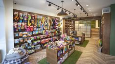 Liqui's shop design and build for Browns Natural Pet Store created an environment more like a retail experience than the usual pet shop design. Retail Interior Design, Interior Office, Pet Store Display, Pet Boarding, Pet Clinic, Dog Shop, Pet Boutique, Animal Decor, Store Design