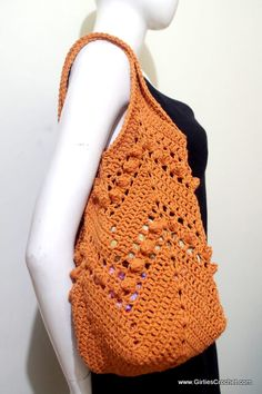 This is a free crochet pattern for Chevron Summer Bag with photo tutorial in each step. An easy to carry tote bag, versatile and fashionable fit for any task or occasion.