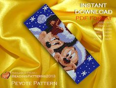 SALE 20% OFF Peyote Pattern  Beading by BeadingPatterns2013