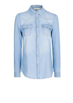 MANGO - Denim shirt (staple piece - must have- can be worn down or dressed up)
